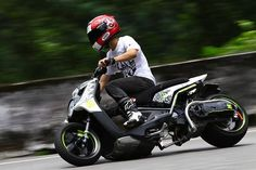 scooter drifting!!!!