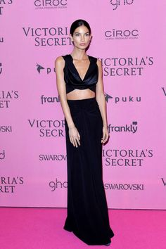 All the best dressed from last night's Victoria's Secret Fashion Show afterparties: Lily Aldridge