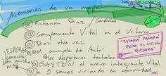 Memorias de un mapa... ultima pista para la 1ra publicación Reactivando el blog