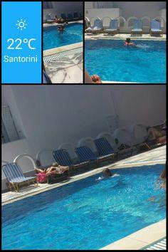 Swim and enjoy. Kids love to swim.