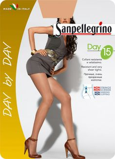 COLLANT DAY 15 | Day by Day | Calze Classiche | Sanpellegrino | Csp International Fashion Group s.p.a.
