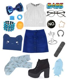 """""""If I ever dress this nice, shoot me."""" by vhsnewjersey ❤ liked on Polyvore featuring dVb Victoria Beckham, Thakoon, Boohoo, River Island, Anya Hindmarch, Patricia Chang, Eddie Borgo, Kismet by Milka, Bling Jewelry and Love Is"""