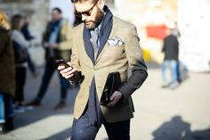 Pitti Uomo Fall 2015 - Pitti Uomo Fall 2015 Street Style Day 1