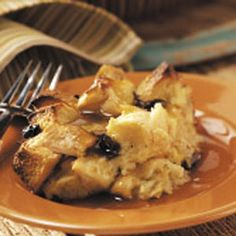 "New Orleans Bread Pudding  Taste of Home    ""For an extra-special treat, try this sweet and buttery bread pudding,"" suggests Linda Weise of Payette, Idaho. ""The cowboys we serve it to say it tastes like home."""