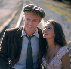 Robert Redford and Natalie Wood in THIS PROPERTY IS CONDEMNED (1966) Another great shot from this movie.