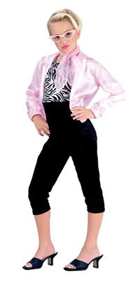 Girls 50′s Pink Lady Costume – Fifties Costumes « Mutant Faces