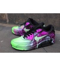 Air Max 90 Candy Drip Pink Abstract Art Airbrush Graffiti Trainer Outlet ab8b4685ef