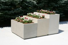 concrete rectangular planters - Yahoo Image Search Results