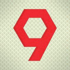 NUEVE #36daysoftype #36DAYS_9 #nueve #typography #graphicdesign #vincentmrivera