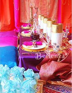 Arabian Nights Tablescape / Jasmine