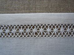 Isabel naredo's media content and analytics Hardanger Embroidery, Lace Embroidery, Embroidery Stitches, Embroidery Patterns, Button Hole Stitch, Monks Cloth, Drawn Thread, Types Of Embroidery, Bargello