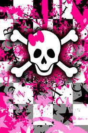 993 skulls with pink and green bows iphone wallpaperf 320480 images 183275 voltagebd Choice Image