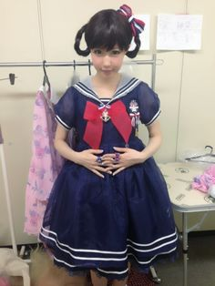 Kawaii sailor lolita look