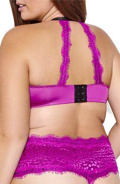 Main Image - Ashley Graham Showstopper Underwire Balconette Bra (Plus Size)