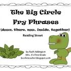 The Big Circle Fry Phrases Reading Street