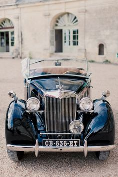 French Chateau wedding - via SMP - Mademoiselle Fiona photo