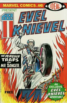 I am the last gladiator in the New Rome. I go into the arena and I compete against destruction and I win.  - Evel Knievel