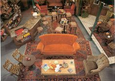 Central Perk from overhead