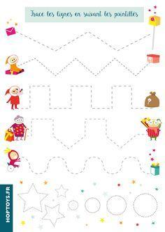 21 planches d'activité à télécharger et imprimer sur le thème de Noël.