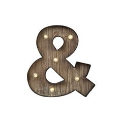 Rustic marquee ampersand makes a great wedding reception decoration, photo prop…