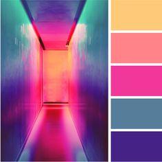 Bright + Bold Color Palettes for Your Brand — Alyson Agemy Neon Colour Palette, Movie Color Palette, Beach Color Palettes, Color Schemes Colour Palettes, Bright Color Schemes, Palette Art, Vibrant Colors, Tropical Colors, Color Schemes Design