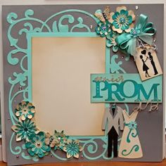 prom scrapbook layouts | Senior prom layout | Scrapbooking Layouts and Cards