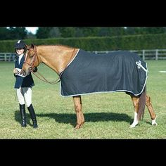 Centaur Wool Cooler - Sale DenSlvLtB, LgHor by Centaur. $108.85. Centaur Wool Dress Sheet is a top quality cooler, perfect with plenty of style for horse shows. Your horse will be stylish, and ready to attend any horse show or event in this beautiful wool dress cooler. Features of the Centaur Wool Dress Sheet Include:Leather front closure with brass buckles Hidden inside surcingle Trimmed and piped with a braided hip ornament Sizing:Pony: fits sizes 60-64 Cob: fits sizes 66-70...