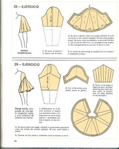 Sensational Tips Sewing Pattern Ideas. Brilliant Tips Sewing Pattern Ideas. Sewing Tutorials, Sewing Crafts, Sewing Projects, Pattern Drafting Tutorials, Pattern Cutting, Pattern Making, Dress Sewing Patterns, Clothing Patterns, Sewing Sleeves