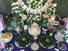 You are going to love this beautiful Fairy Magical Garden 6th Birthday Party! See more party ideas and share yours at CatchMyParty.com