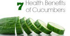 Health Benefits of Cucumbers Good Girl Gone Green