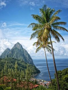 St. Lucia.. paradise. I'd drop my whole life to go there right now.. so beautiful, peaceful..