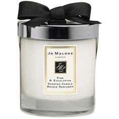 Jo Malone Pine and Eucalyptus Christmas Home Candle, 200g found on Polyvore