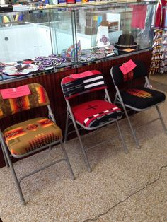 Pendleton Upholstered Folding Chair