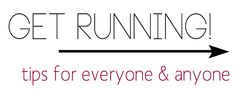 rouge & whimsy: so i'm a runner + tips from the husband