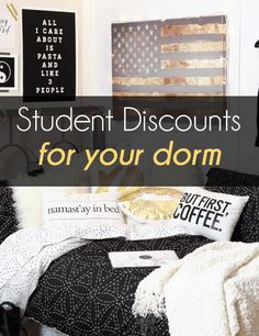 Get Hundreds of Student Discounts - Being a college student can save you tons of money. Shop at these stores and get discounts!