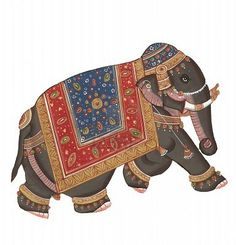 Vintage Elephant Illustrations |