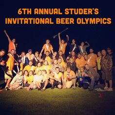 Studer's Invitational Beer Olympics - year 6.  Highlight video included and new drinking games!