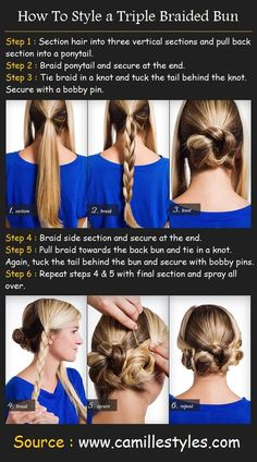 Long Hair Styles How To | 34/392 | | Tutorials, Videos, Pictures for Long Hairstyles |