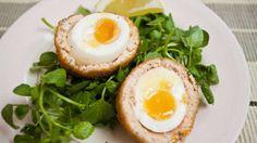 Salmon scotch egg