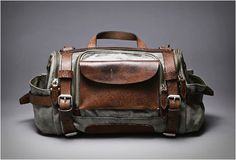 PARATROOPER CAMERA BAG | BY WOTANCRAFT ATELIER