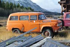 1958 Dodge Power Wagon panel truck 4x4, Old Dodge Trucks, Dodge Pickup, Cool Trucks, Pickup Trucks, Dodge Cummins, Station Wagon, Dodge Power Wagon, Dodge Wagon, Panel Truck