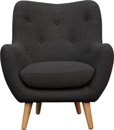 Maybe a little smaller. or without arms. with color BREYTON fauteuil en tissu - Habitat Chaise Chair, Armchair, Accent Chairs For Living Room, Living Room Decor, Chair Design, Furniture Design, Home Room Design, Comfy Sofa, Take A Seat