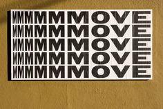 Ficciones Typografika: MOVE on Behance