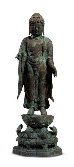 [Antiquity-Three Kingdoms Period(Silla)] Corner Pillars with Vajra Guardians