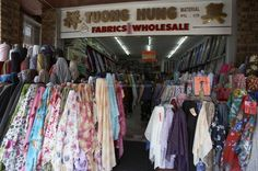 Sydney Cabramatta - Colorful fabric shop  Read more: http://www.traveltherenext.com/explore/item/43-a-taste-of-vietnam  #sydney #vietnam #vietnamese #cabramatta #food #tour #cuisine #cabramatta #discover #travel #traveltherenext #shopping