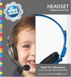 #Giveaway: Win a Kidz Gear Headset (Ends 5/25)