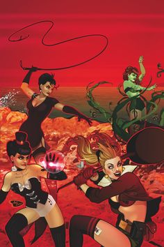 DC COMICS BOMBSHELLS #17 Written by MARGUERITE BENNETT Art by SANDY JARRELL and MIRKA ANDOLFO Cover by ANT LUCIA