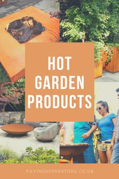 Add those finishing touches to your garden with a fire bowl, water feature, BBQ or something else! #garden #design #heatwave #outdoorliving #firebowl #firepit #bbq #waterbowl #waterfeature Fire Bowls, Water Features, Garden Design, Outdoor Living, Latest Trends, Bbq, Water Sources, Barbecue, Outdoor Life