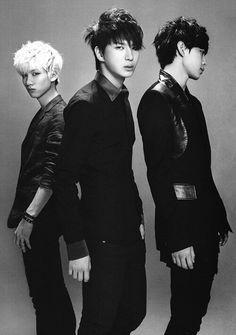 VIXX Hongbin, Leo and Hyuk