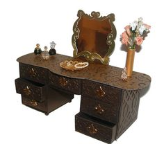 Matchbox Dresser, Dressing Table, Desk